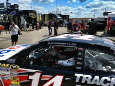 Twitter / NASCAR: PHOTO: Tony Stewart isn't here ... SMOKE will rise... 8/16/13