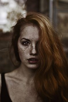 Untitled by Marta Syrko |  I Love Freckles | Gorgeous Red Head | Beautiful Face | Unique Beauty | Photography
