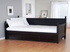 Black Daybeds With Drawers