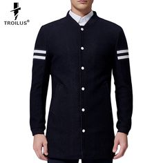 Find More Trench Information about Troilus 2016 Super Hot Spring&Autumn Fashion Coat Korean Style Casual Cotton Stand Collar Long Trench Men Popular Sliming Trench,High Quality coat 3t,China trench coat pattern free Suppliers, Cheap trench coat yellow from Troilus Flagship Store on Aliexpress.com