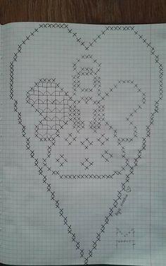 Carina Eliasson s - Her Crochet Crochet Patterns Filet, Crochet Angel Pattern, Crochet Angels, Cross Stitch Patterns, Thread Crochet, Crochet Doilies, Crochet Stitches, Hexagon Quilt Pattern, Crochet Christmas Decorations