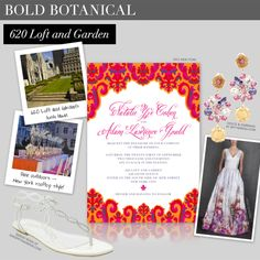 Boldly botanical - Aisle Style - Ceci Johnson's design guide for the New York City bride - CeciStyle Magazine V181