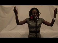"""Athieno (formerly annieSoul), a singer from Nairobi, performs her vocal arrangement of the Kenyan National Anthem. """"This truly is my favorite Kenyan song. I ..."""