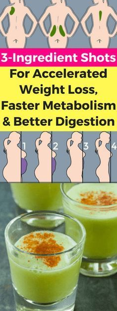 3-Ingredient Shots For Accelerated Weight Loss, Faster Metabolism & Better Digestion – Today Health People