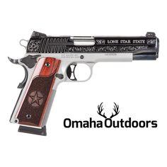 Sig Sauer 1911 Texas Edition Stainless / Silver Engraving 45 ACP 8 RDS 5″ Handgun - Omaha Outdoors