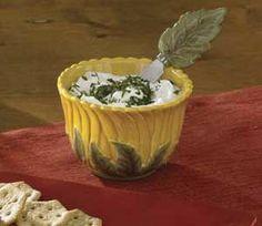 Sunflower Dinnerware | sunflower ceramic dinnerware set | Sunflower Dip Bowl Spreader Set ...