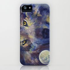 Wolf iPhone Case by Michael Creese - $35.00