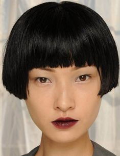 What About Bobbed? Short blunt bob with bangs. Bowl Haircuts, Short Bob Haircuts, Bob Hairstyles, Bowl Haircut Women, Bowl Cut Hair, Hair Inspo, Hair Inspiration, Short Hair Cuts, Short Hair Styles