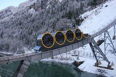 Stoosbahn Funicular – Schwyz, Switzerland - Atlas Obscura