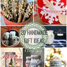 20 Handmade Gift Ideas