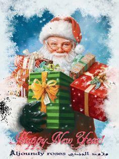 Christmas Scenes, Noel Christmas, Christmas Pictures, Winter Christmas, Vintage Christmas, Christmas Crafts, Christmas Decorations, Christmas Ornaments, Father Christmas