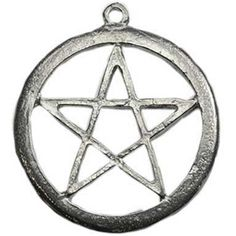 Pewter Pentagram pendant necklace 15% Off Coupon Code: 15PINOFF