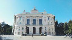 Gmach Główny Politechniki Warszawskiej in Warszawa, Województwo mazowieckie