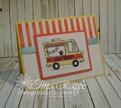 Stampin' Up! Tasty Trucks stamp set, Stampin' Studio