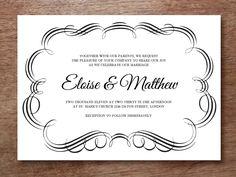 wedding invitation wording abroad weddingpremiumcom Pinterest