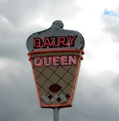 Vintage DQ Sign in Texas