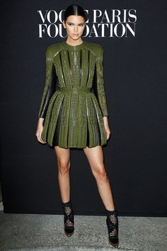 "Pin for Later: Kendall Drops the ""Jenner"" in the Name of Fashion — Do You Approve? She Has Legs For Days"