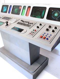 High quality Space Ship Control Desk available to hire. View Space Ship Control Desk details, dimensions and images. Space Party, Space Theme, Star Citizen, Astronaut Diy, Futuristic Bedroom, Space Warriors, Library Themes, House Trim, Space Girl