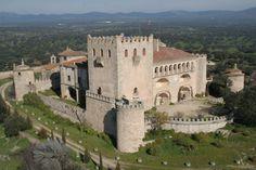 Castillo de Piedrabuena, Badajoz España.