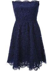 Valentino - strapless lace dress