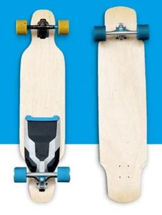 The Mellow Drive is an electric drive that you mount to any skateboard