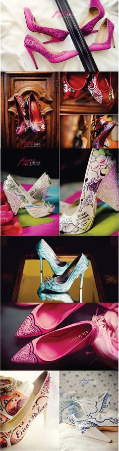 hand painted shoes. i adore these so much.