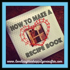 Diy recipe book yes i did this do it myself pinterest blog tutorial on how to make a diy family recipe book with a photo album solutioingenieria Images