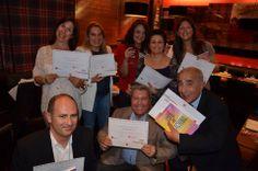 Entrega de diplomas a los coaches ACTP de ICF.