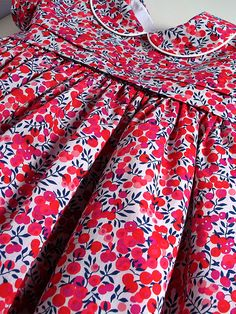 Classic Liberty Tana Lawn Dress for A Little Girl