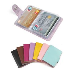 Buckle Cards Holders Organizer Manager For Women Men Free Shipping