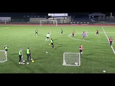 Pass Finish Warm Up Game. - YouTube