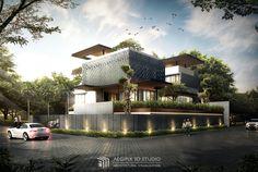 Minimalist Architecture, Modern Architecture House, Residential Architecture, Villa Design, Facade Design, Exterior Design, Design Art, Bungalow House Design, Modern House Design