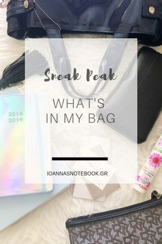924b1a688e Sharing everything that s in by bag during a normal weekday. Ioanna  Ioanna s Notebook Lifestyle Blog