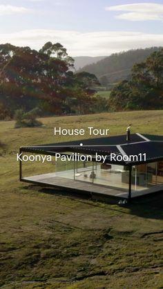 Australian Architecture, Minimalist Architecture, Sustainable Architecture, Interior Architecture, Glass Pavilion, Room Of One's Own, Tiny House Living, Tiny House Design, Luxury Interior Design
