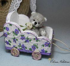 how to: teddy bear's trolley