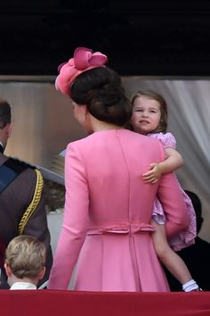 Prince George and Princess Charlotte are ready for their big balcony moment!