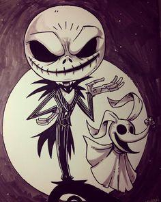 Best Halloween Tattoos Ideas for Men/Women - MindBlowra Dark Art Drawings, Cool Drawings, Drawing Sketches, Drawing Ideas, Disney Drawings, Cartoon Drawings, Cartoon Art, Halloween Tattoo, Halloween Drawings