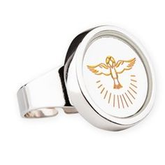 Ascent of The Holy Spirit Round #Ring... #HolySpirit  #forsale #Pentecost #Confirmation
