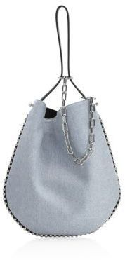 Alexander Wang Roxy Denim Hobo Bag. Hobo bag fashions. I'm an affiliate marketer. When you click on a link or buy from the retailer, I earn a commission.