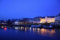 View from Richmond Bridge, Christmas 2009 by Twickermum on Flickr