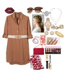 """""""Date night"""" by paytton-white on Polyvore featuring Anastasia Beverly Hills, United by Blue, Jimmy Choo, TravelSmith, Kate Spade, Michael Kors, Lime Crime and Yves Saint Laurent"""