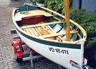Voile-aviron classique de 4.3 m Vers description Aber