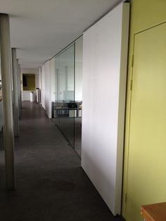 Sliding door workspace