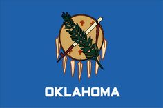 oklahoma state    How to Draw the Oklahoma State Flag   eHow