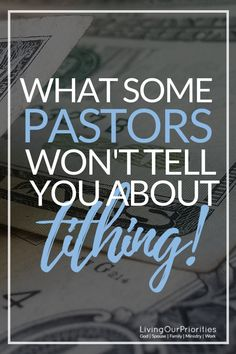 Some Pastors Won't Tell You About Tithing! - Is there more to tithing than what we're taught?Is there more to tithing than what we're taught? Prayer Scriptures, Bible Teachings, Bible Prayers, Faith Prayer, Christian Life, Christian Living, Christian Humor, Christian Quotes, Bible Knowledge