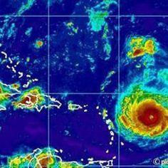 Furacão ameaça Caribe com ventos de até 280 km/h
