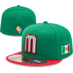 167fa44d6ab Team Mexico New Era 2013 World Baseball Classic On-Field 59FIFTY Fitted Hat   WBC