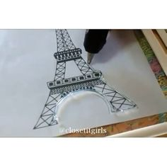 Eiffel Tower for decor Cr: @closetitgirls . . . - 💛↠ @videostutorials.s 💛↠ @videostutorials.s ⠀ - #diy #video #tutorial #videos #loveit #nails #nail #nailart #colorful #color #colors #love #lovely #creative #maquiagem #inspiration #hair #hairstyle #haircut #Makeup #beauty #beautiful #make #follow#followme #like #cool #art #amazing #fashion
