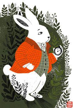 Alice in Wonderland for Storytime Magazine