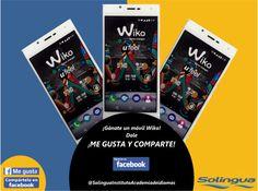 Participa y ¡gánate un Móvil! Wiko con Solingua :-) Ve a https://www.facebook.com/SolinguaInstitutoAcademiadeIdiomas  y dale Me Gusta y Comparte.